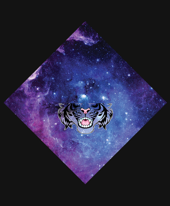nomad complex tiger galaxy bandanimal bandana animal face vancouver polyester colorful breathable apparel accessories