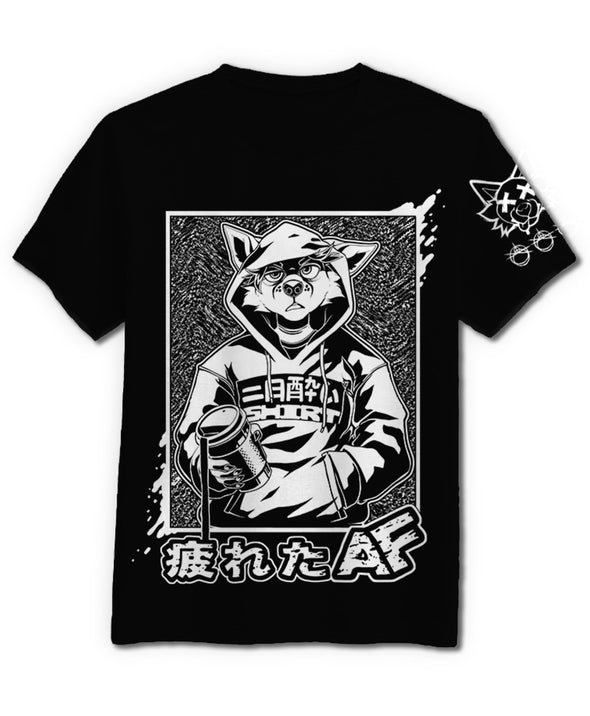 TiredAF - T-Shirt (Black)