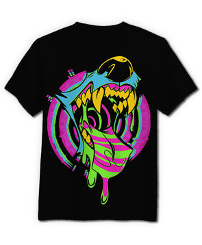 Trippin' Out! - T-Shirt (Black)