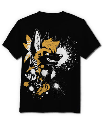 Wild Dog - T-Shirt (Black)