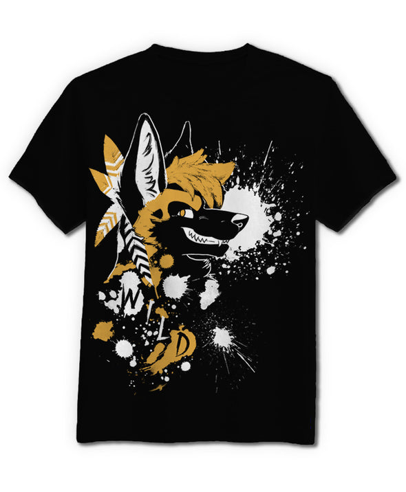 nomad complex wild dog AWD canine tshirt cotton apparel crew cut vancouver