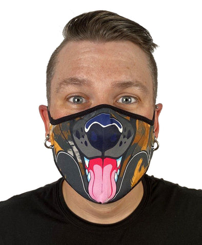 Face Mask - Wild Dog