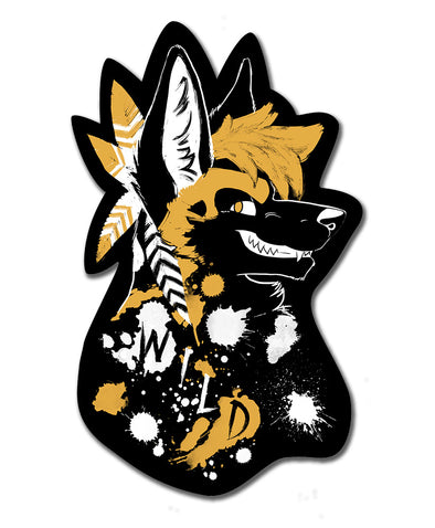 Wild Dog - Sticker