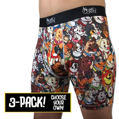 3 Pack Nomad Boxer Briefs (Pick Your Own!)