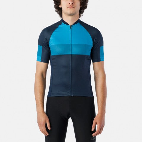 Giro Chrono Expert Shred Blue Jewel Jersey