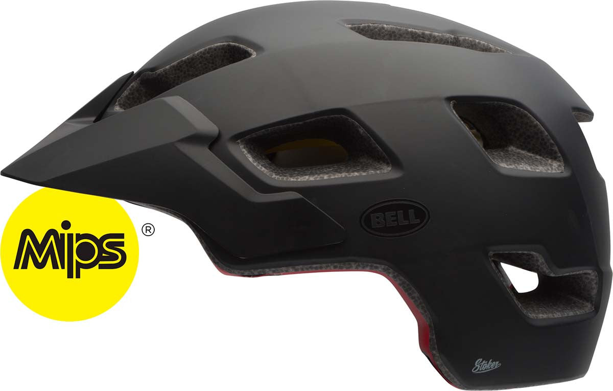 Bell Stoker Bicycle Helmet with MIPS, Matte Black