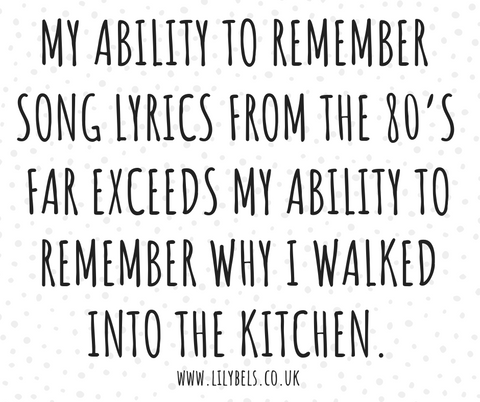 80's quotes, love the 80's, getting old quotes, terrible memory quotes