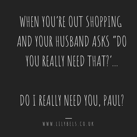 Shopping quotes | Husband quotes | Funny quotes