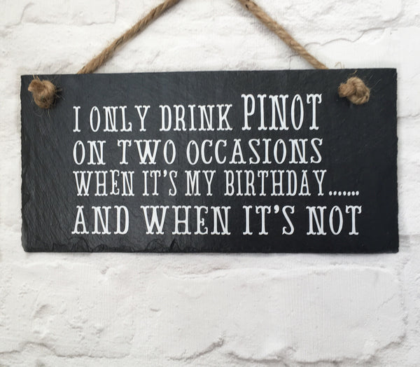 Pinot on two occasions - Lilybels
