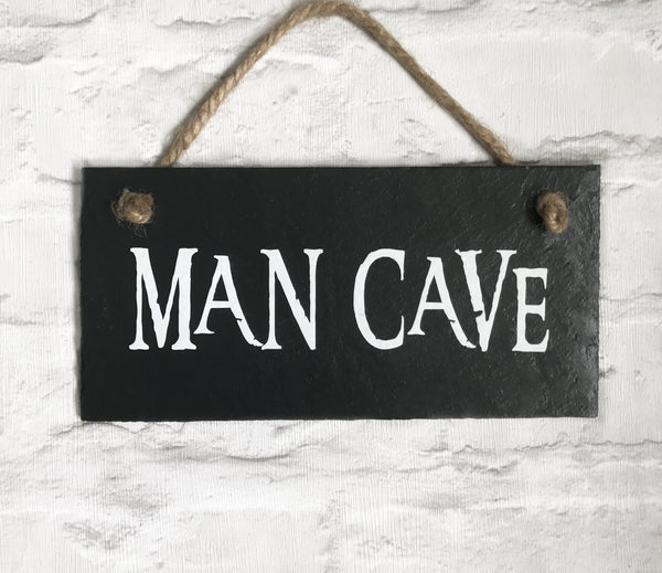 Man cave sign - gift for dad - Lilybels