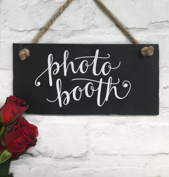 Photobooth sign - wedding decor
