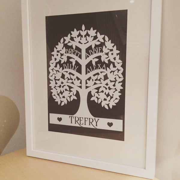 Personalised Family tree. - Lilybels