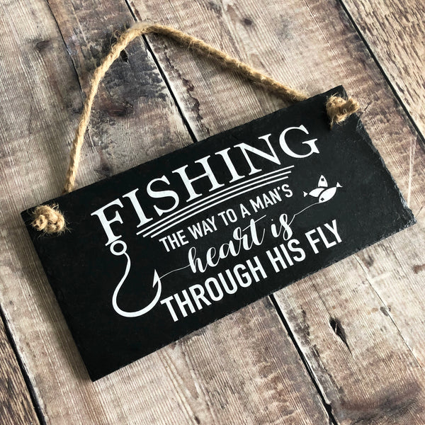 Funny fishing sign - Lilybels