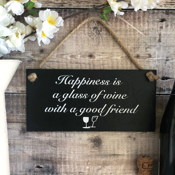 Friendship  'Good friend and wine' - Lilybels