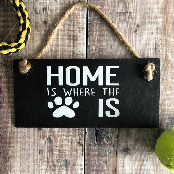 Home is where the  dog / cat is