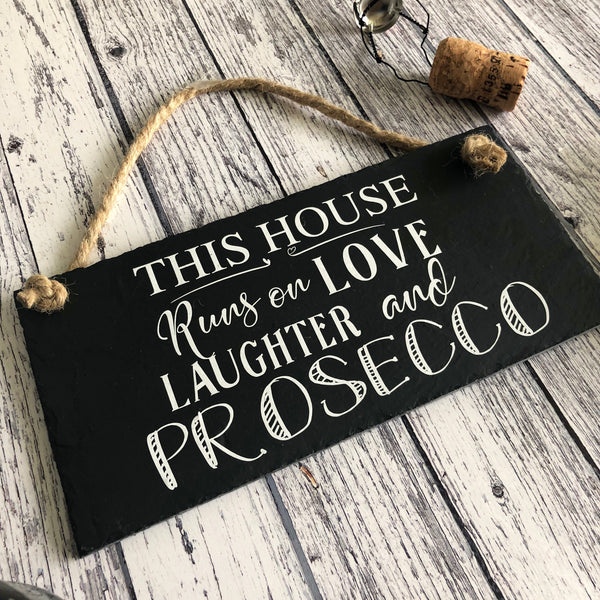 This house runs on love, laughter and prosecco - Lilybels