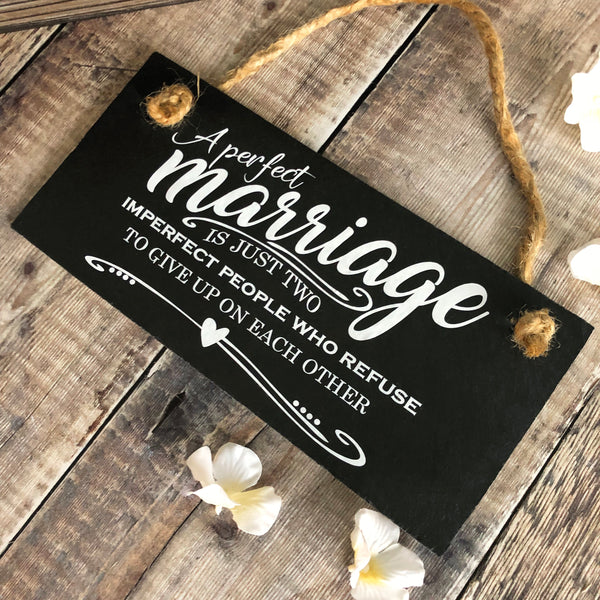 Marriage quote ' A perfect marriage.....' - Lilybels