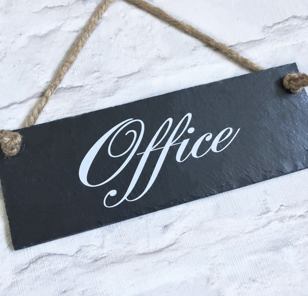 Office sign. Office slate sign - Lilybels