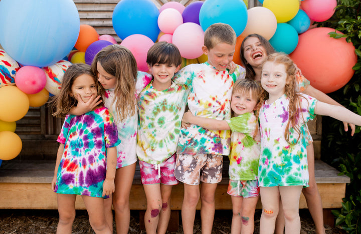 How To Throw A Tie Dye Party For Kids