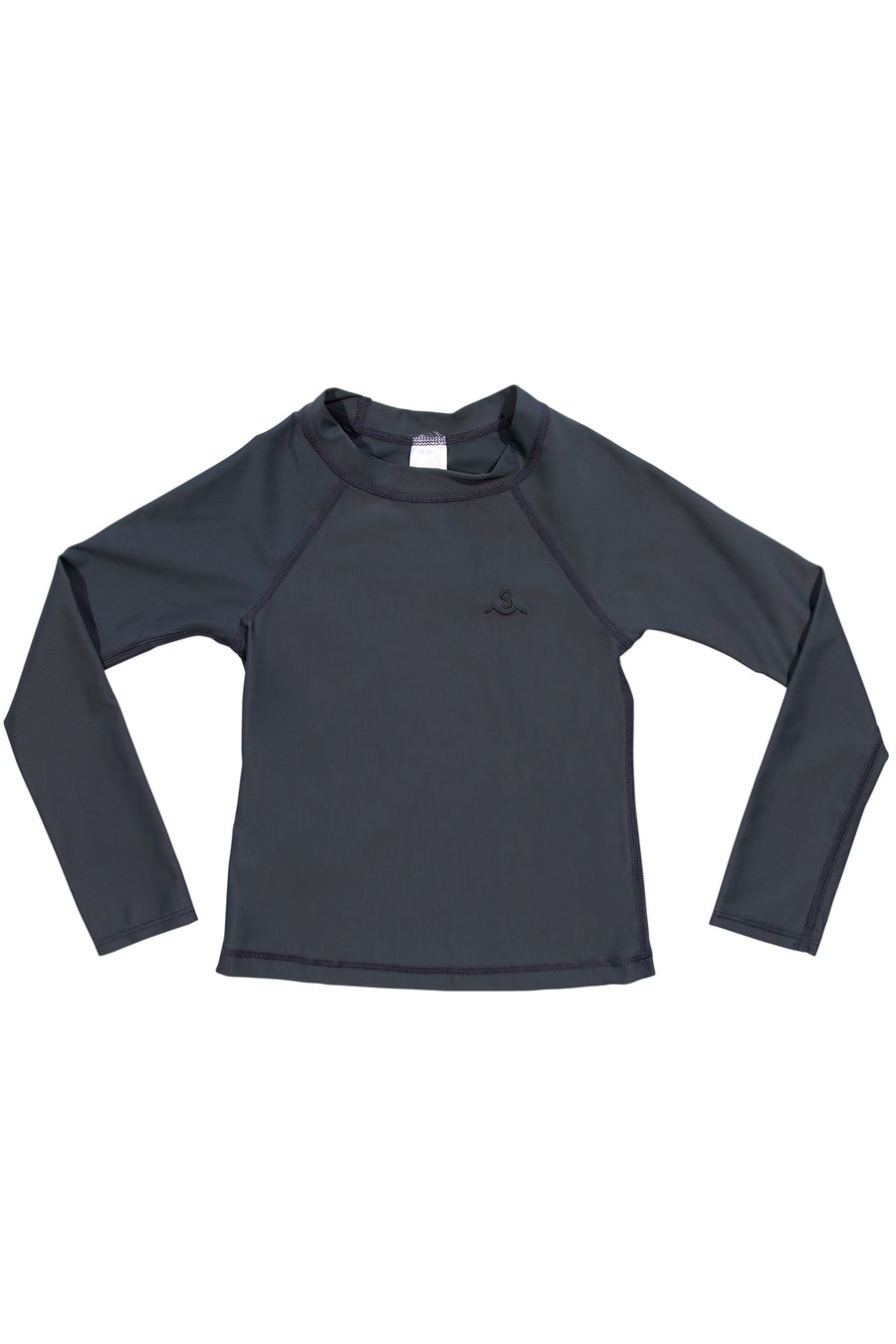 Kids Rashguard / Charcoal