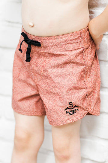Snap Krackle Chop / Terracotta /  Boardshorts