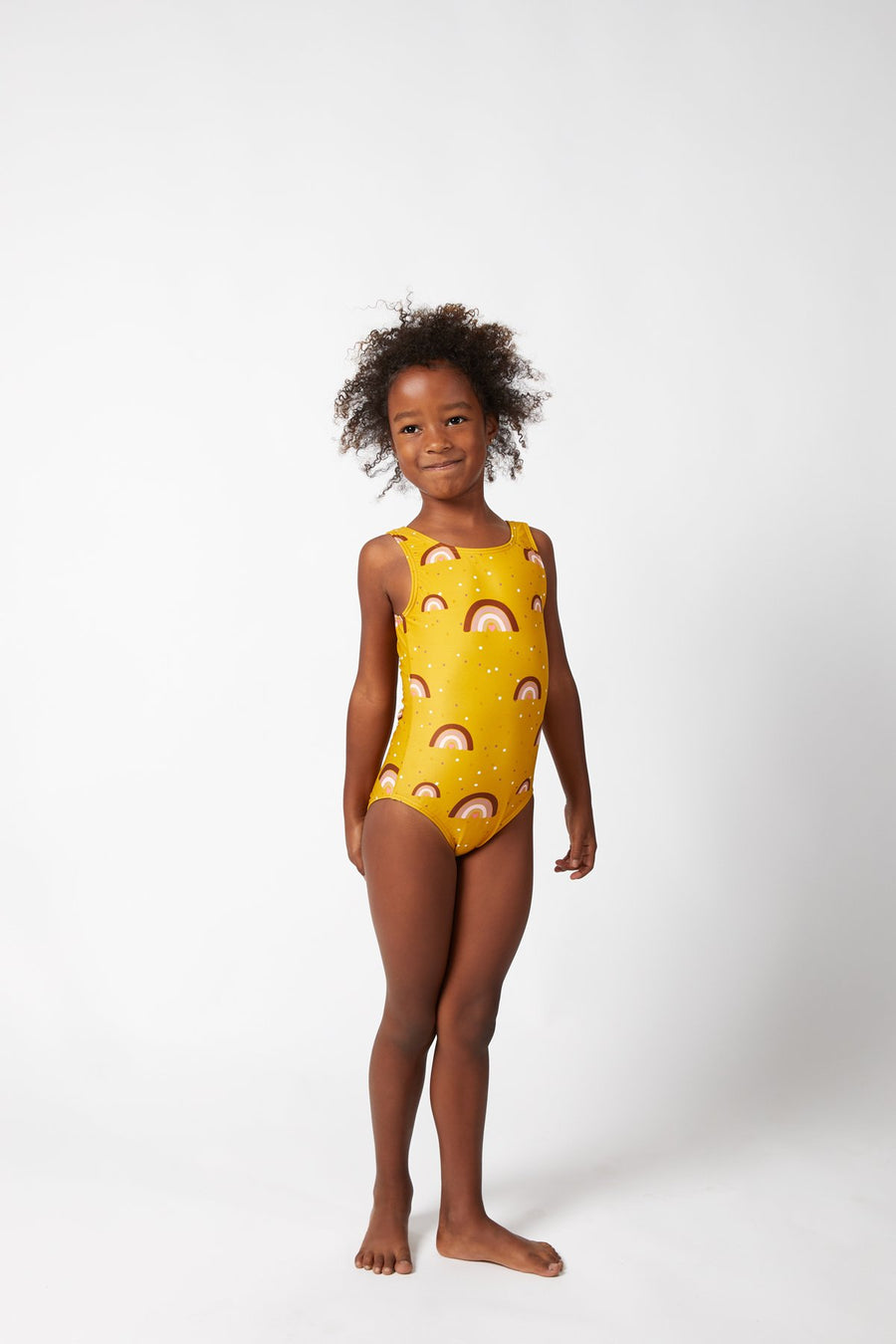 Sea Arches / Ochre Swimsuit