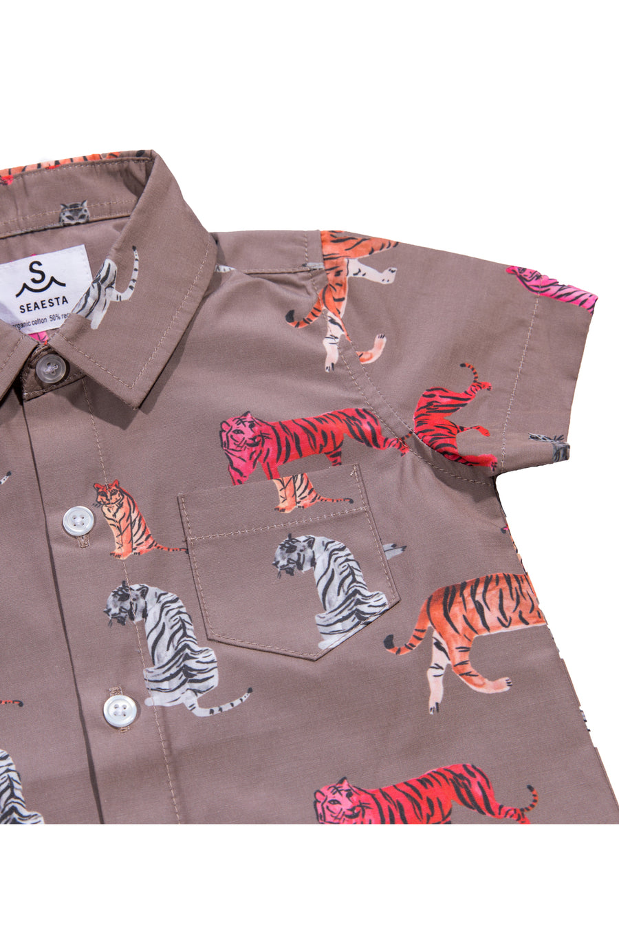 Los Tigres Button Up Shirt | Coco