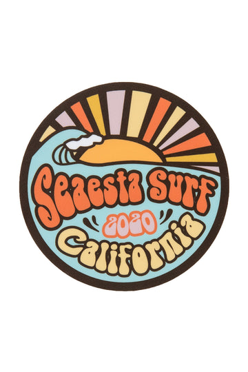 Limited 2020 Edition | Seaesta Surf Sticker