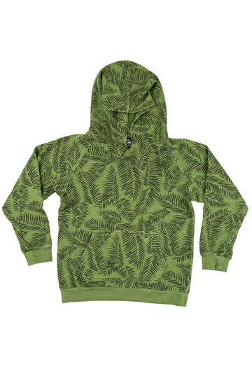 Sri Palms Throwback Hoodie / Mint Leaf