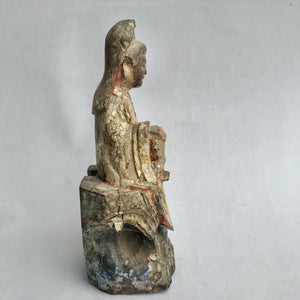 Quan Yin Statue Very Old