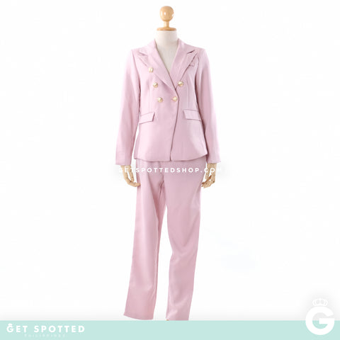 Heide Power Suit | Pink