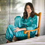Blissful Slumber Pyjama in Aquamarine