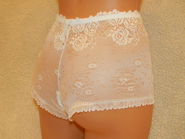 white Lace,rose,high waist lingerie,plus size panties,handmade panties,lingerie cross dressing,bbw woman,black lace lingerie,lace underwear