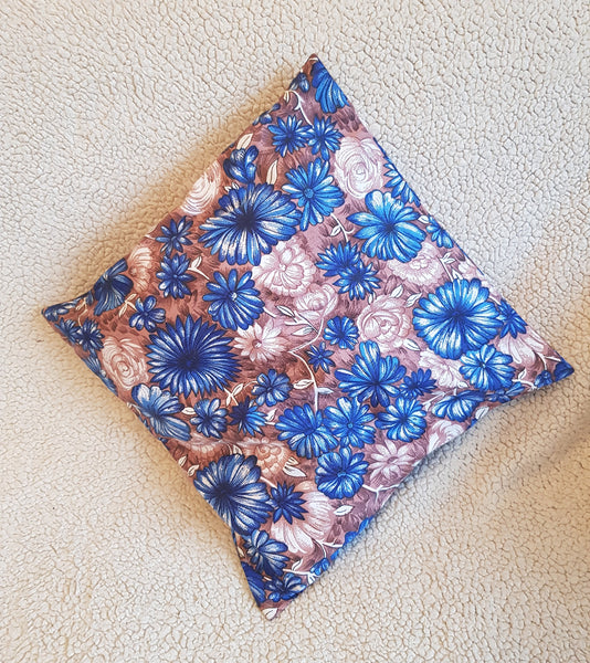 Pillow Covers,blue floral Pillows, custom pillow covers, personalized pillows, unique pillow cover, wedding, personalized gift, lace pillows