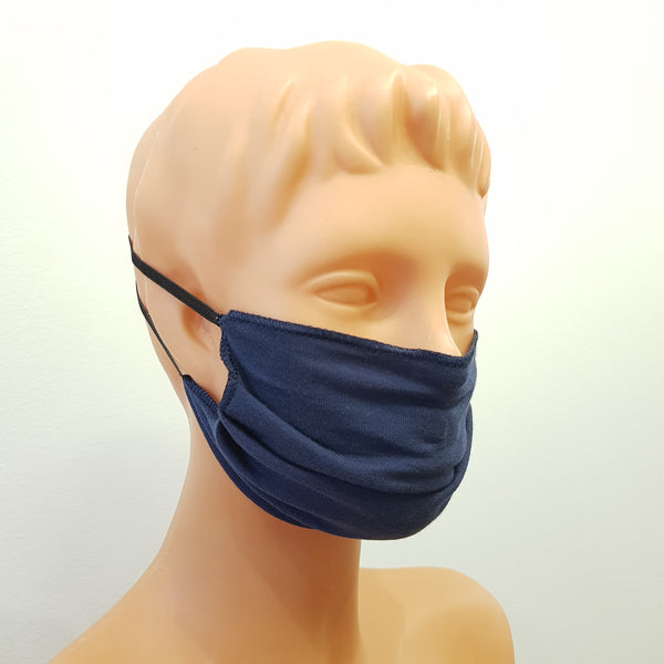 Handmade Blue face mask, cotton, one size, different colors, custom request