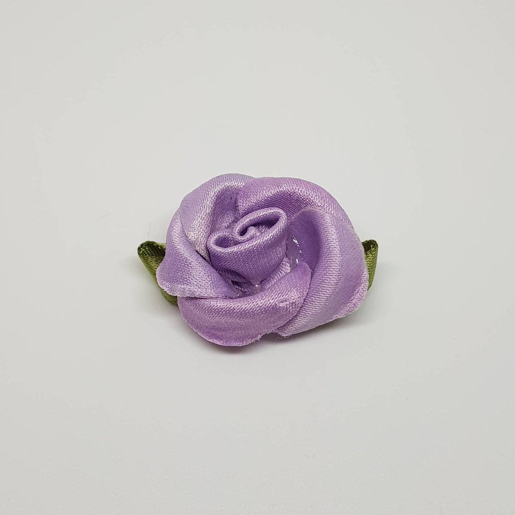 Purple rose Purple flowers Satin Bows in Purple color Embellishments, Satin Bows, Craft Supplies, Craft Bows
