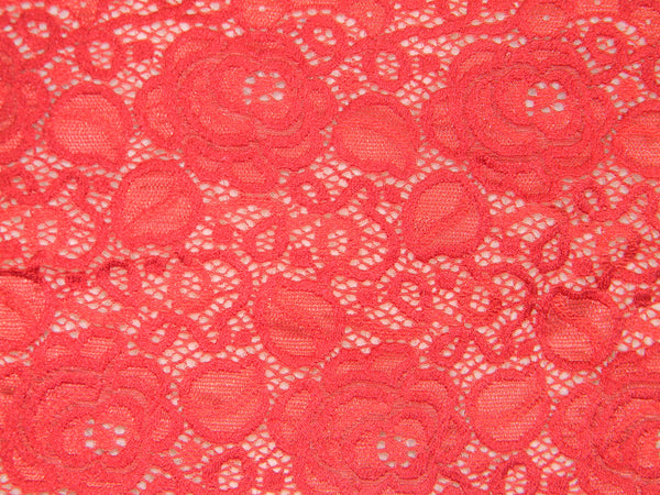 For lingerie stretch Lace, elastic red color lace, elastic lingerie lace, wide lace