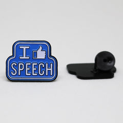I Like Speech Pin