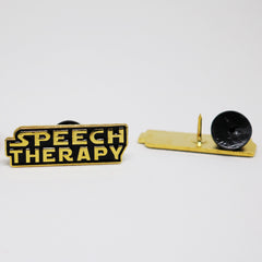 Speech Therapy Galaxy Pin