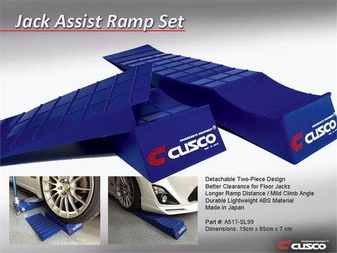 Cusco Jack Assist Ramp Set