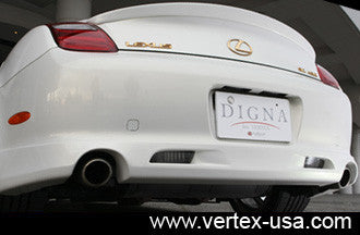 Lexus SC430 Vertex Digna Rear Half Lip
