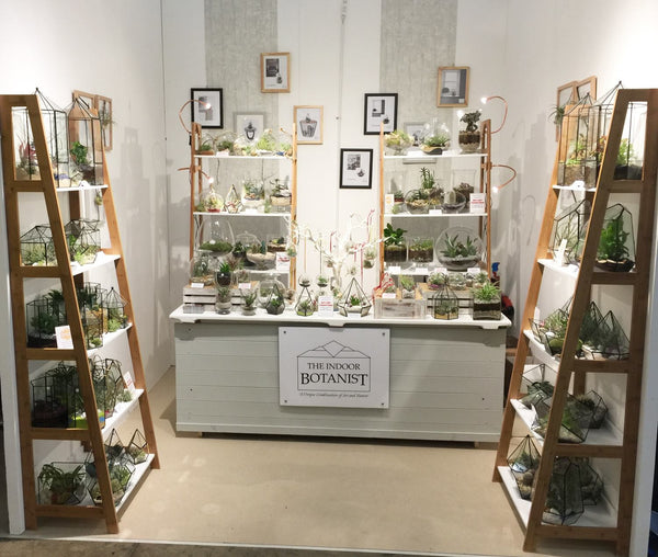 The Indoor Botanist Exhibition Trade Stand