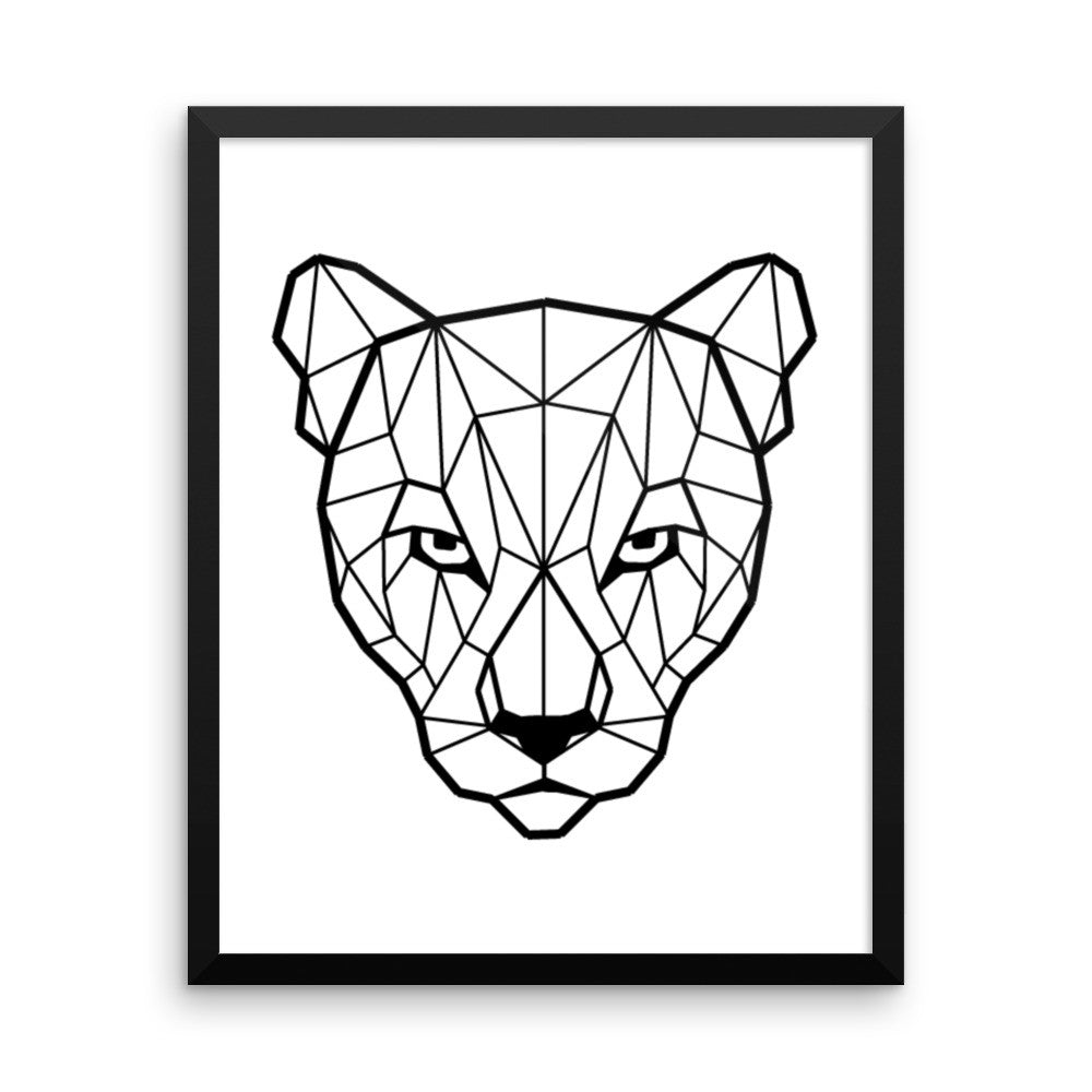 Panther Framed Poster