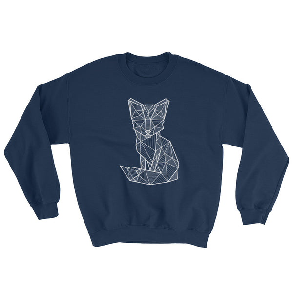 foxy art design raglan sweatshirt blue