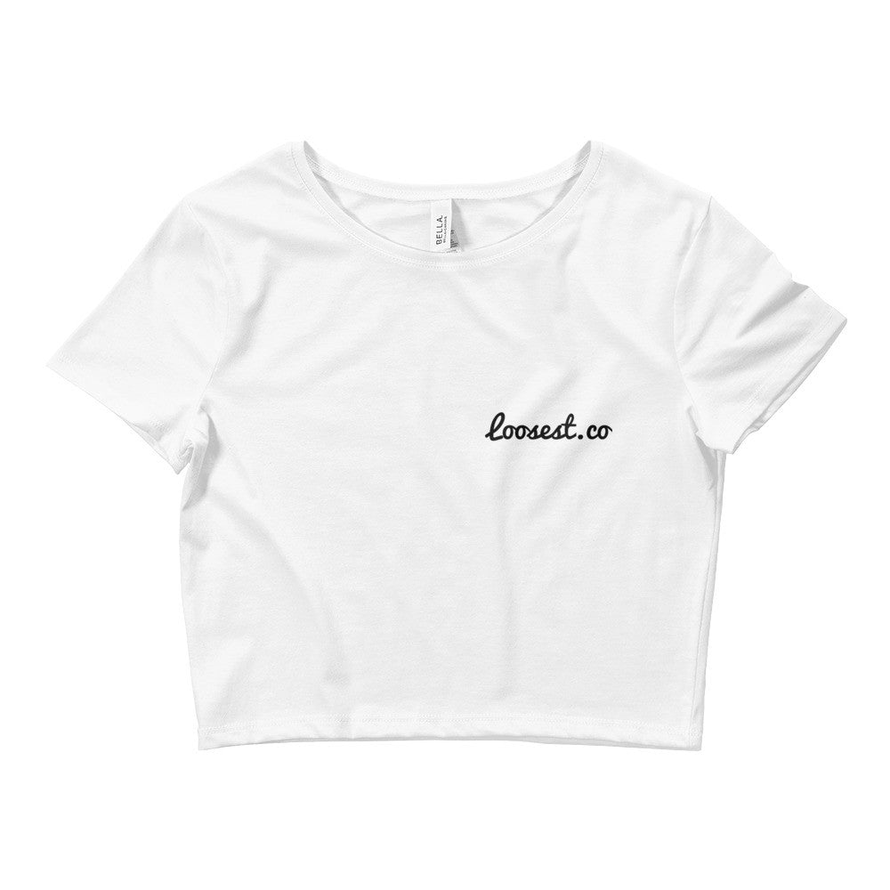 Plain Loosest Crop Tee