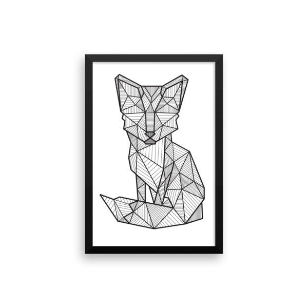 Foxy Framed Art