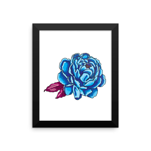 Rose Framed Poster