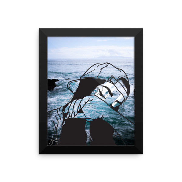 Over It Framed Art