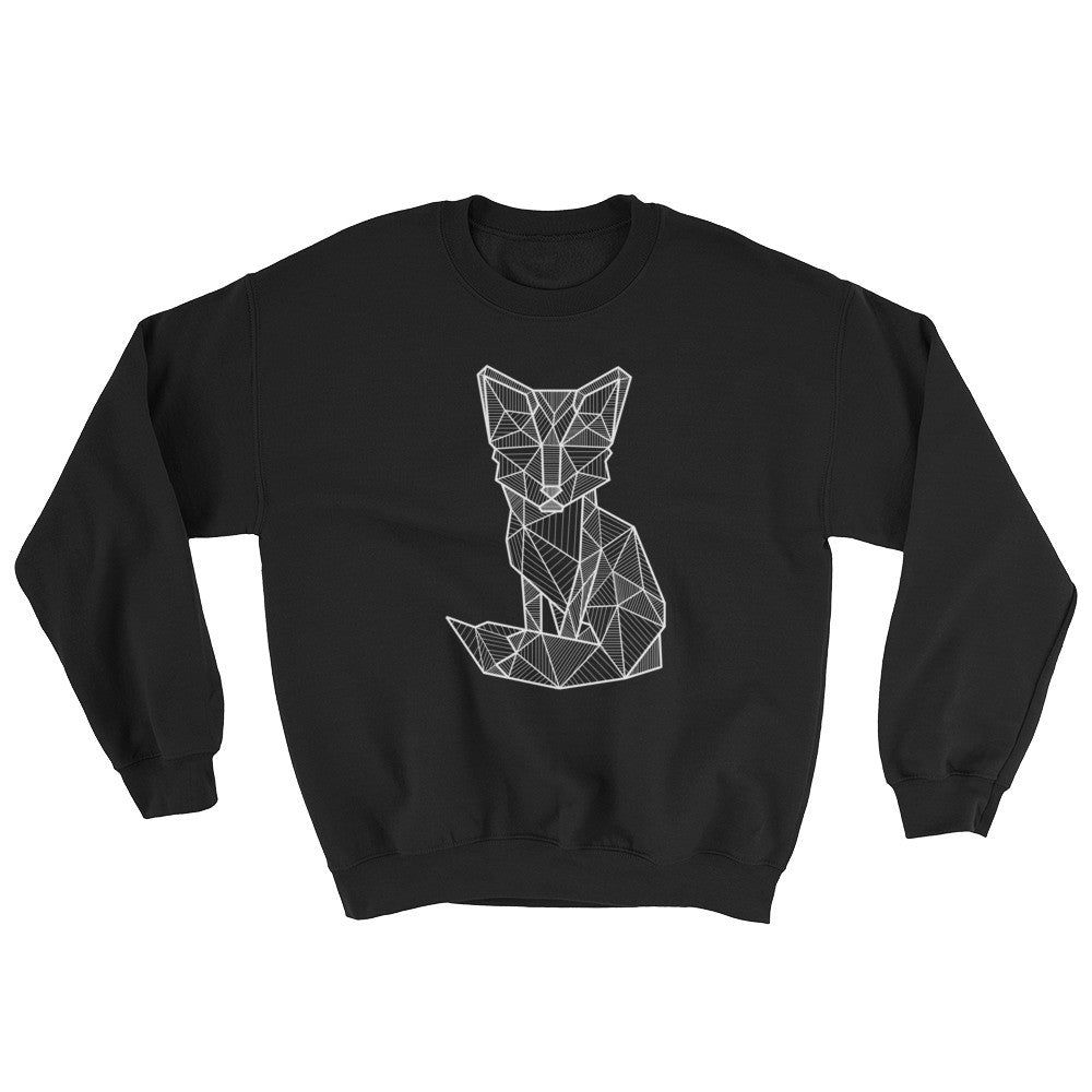 foxy art design raglan sweatshirt black
