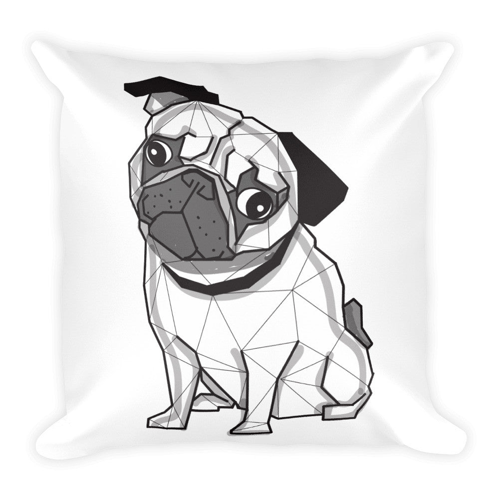 Peppa The Pug Pillow